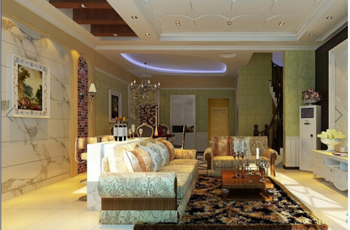 125平米欧式二层半别墅