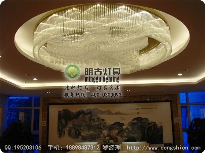 酒店欧式传统水晶吊灯设计结构图方案12345678