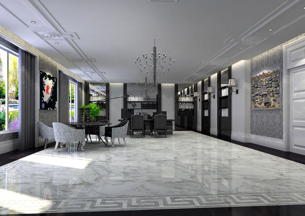 1234案例图片 - 郑州办公室装修设计公司的空间 - 红