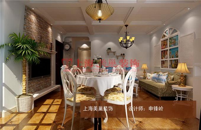 瀚宇天悦两室一厅简欧风格装修案例1234