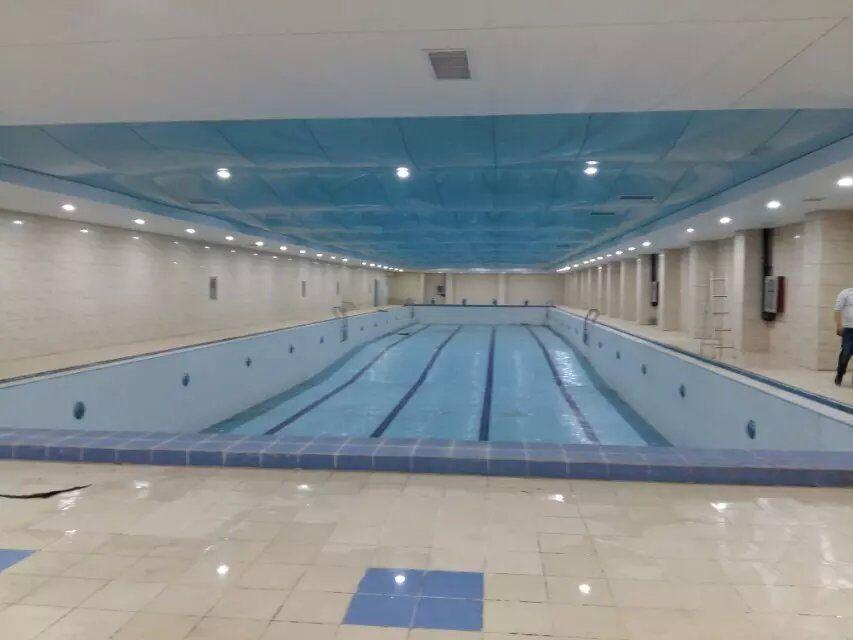 济南游泳馆软膜天花吊顶