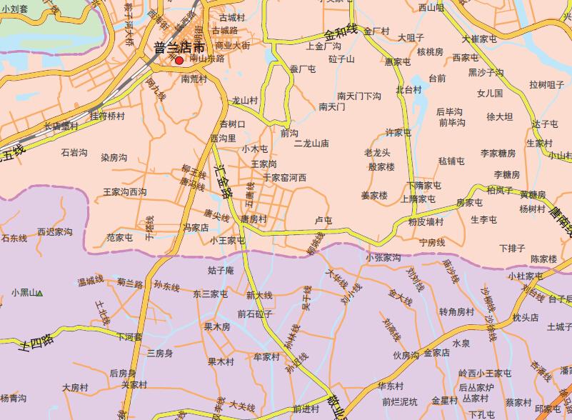大连市地图1