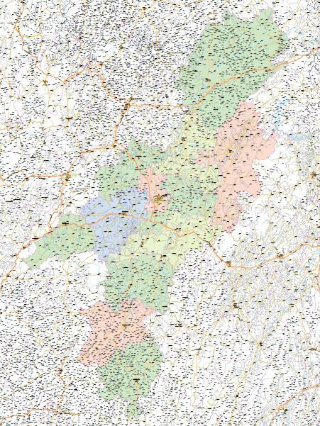 怀化市地图