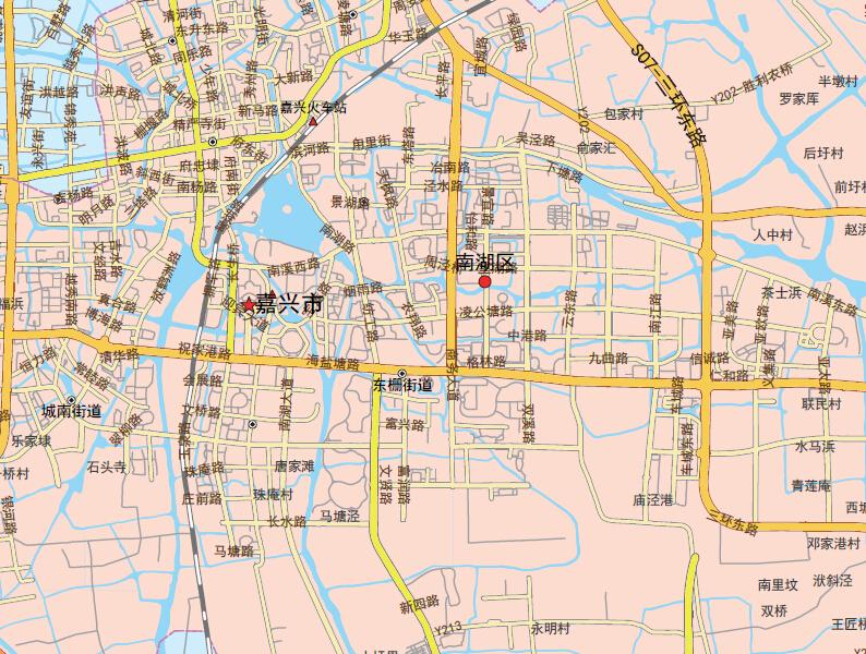 嘉兴市地图1