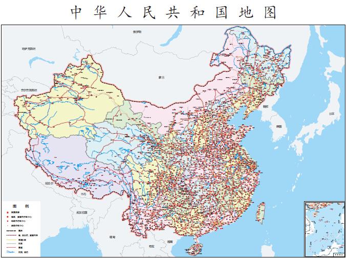 中国地图1