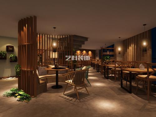 青岛餐厅装修设计之1966时尚餐厅12