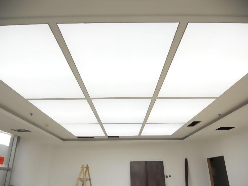 杭州软膜|白色发光灯膜|吊顶发光膜材料1