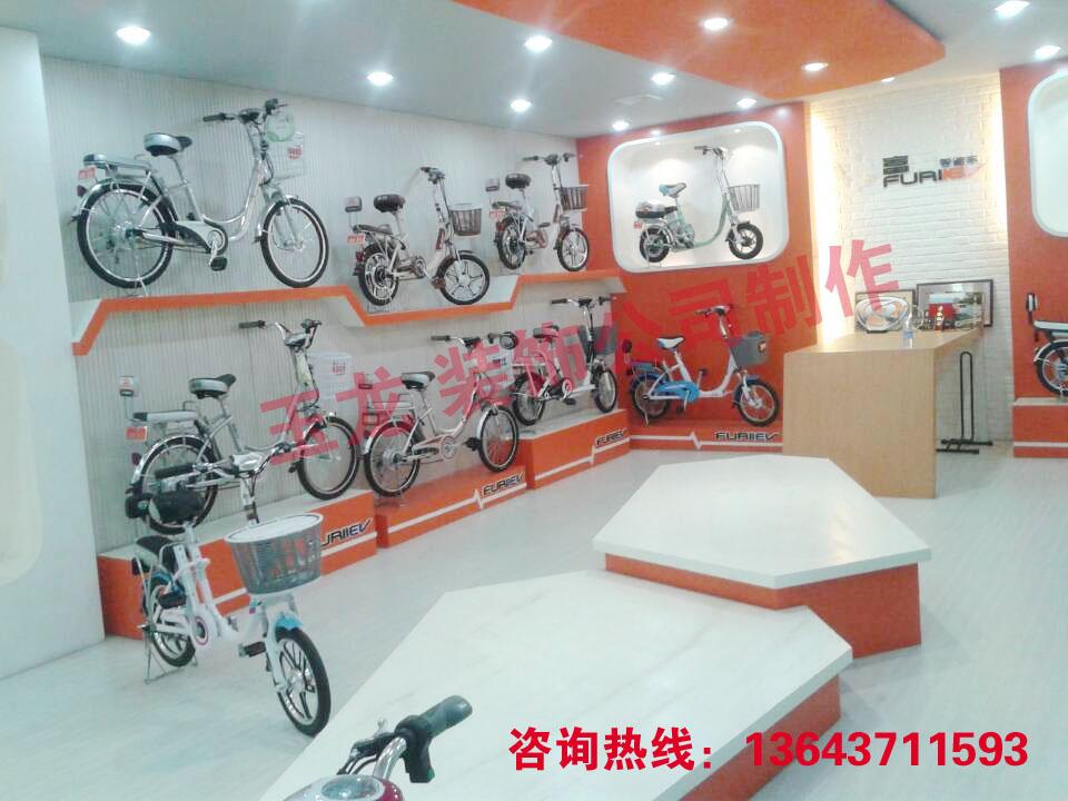 郑州电动车专卖店装修公司