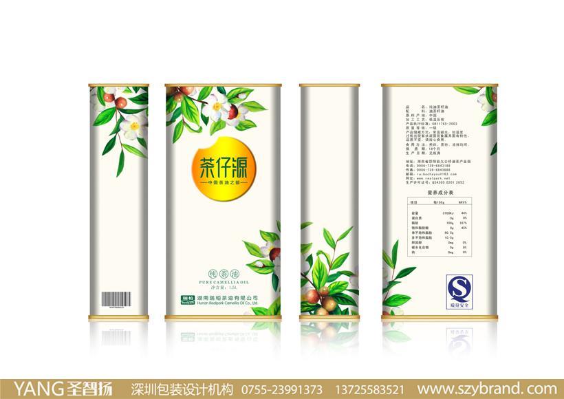 装设计公司签约安琪月饼山茶油包装设计/玉米油包装设计/橄榄油包装