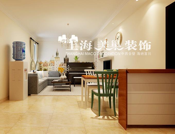 正商恒钻80平两室两厅简欧装修样板间12高清图片