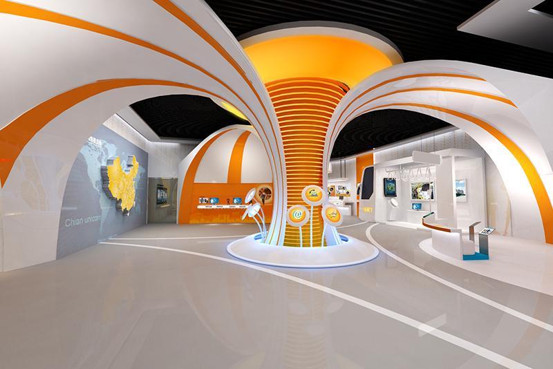 东枣庄联通体验馆展厅设计效果图12345678高清图片