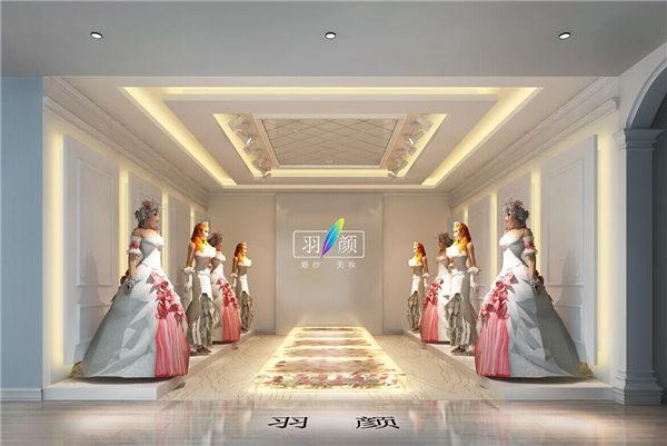 婚纱展厅设计装修123