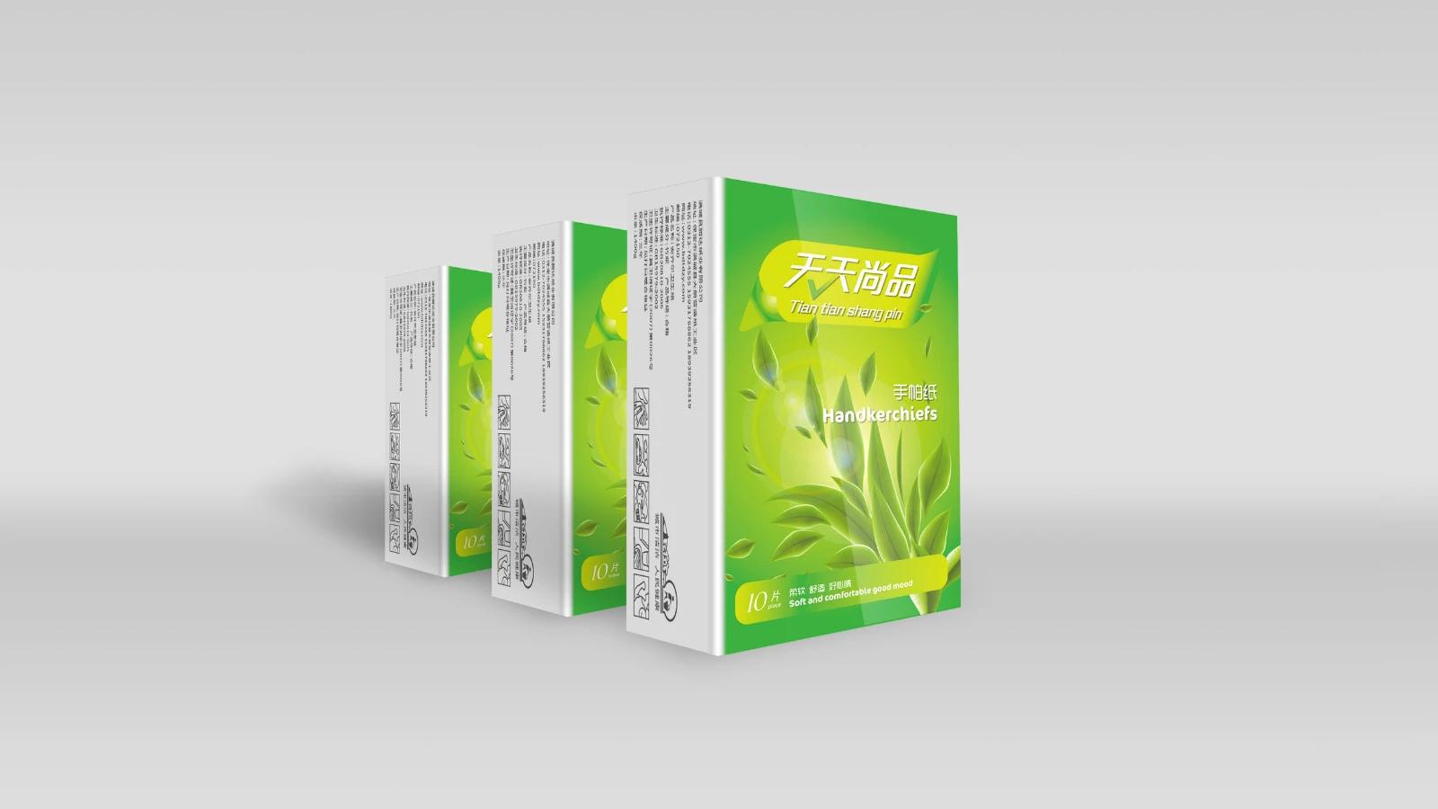 大册营纸巾包装12案例图片 设计师赵猛品牌设计的空间 红动中国设计