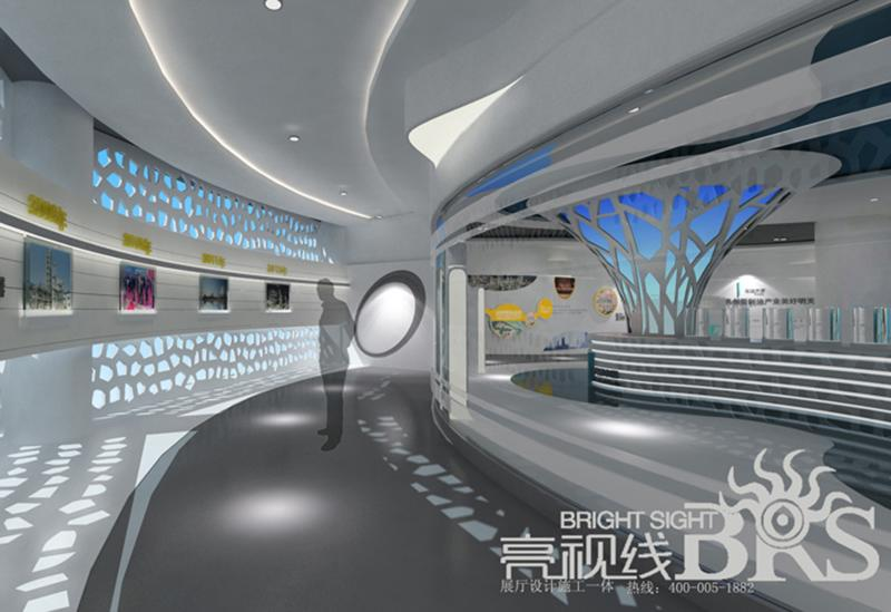 伊泰集团企业展厅设计欣赏12345