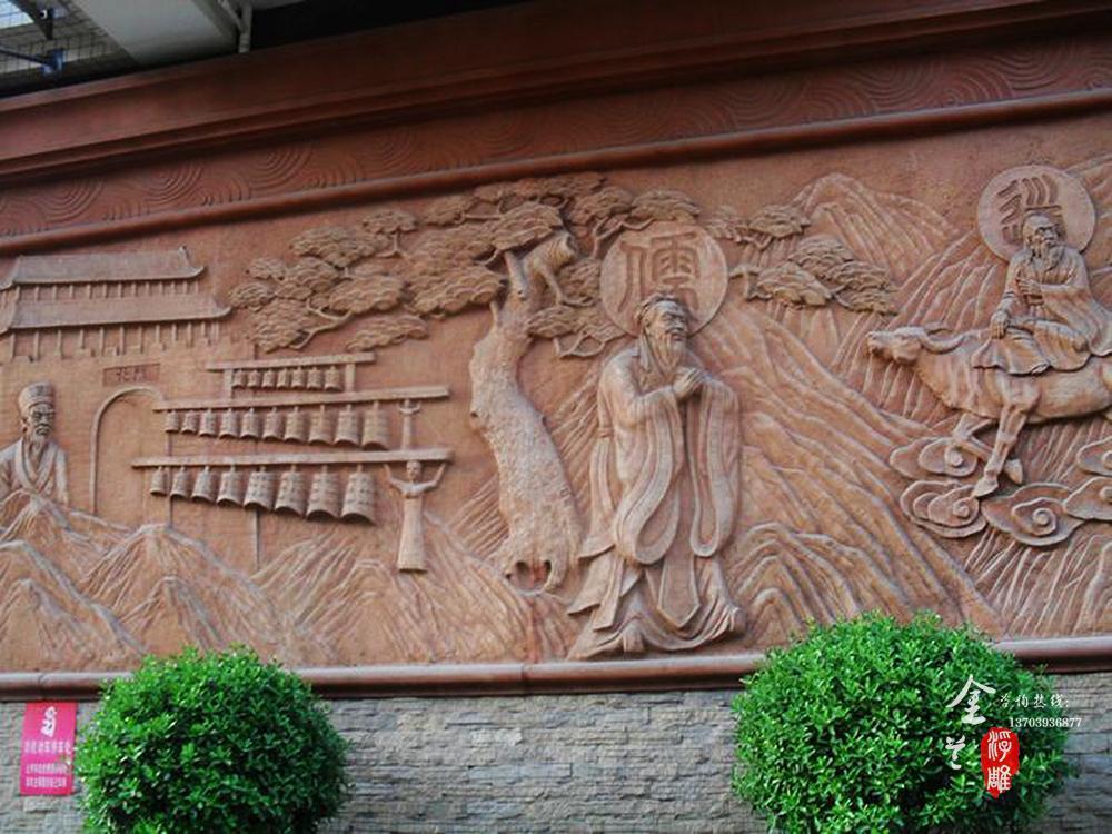 砂岩浮雕建材风格之东南亚风格