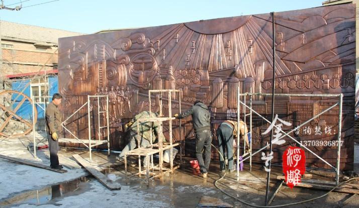 中国设计空间 洛阳锻铜浮雕 洛阳浮雕设计