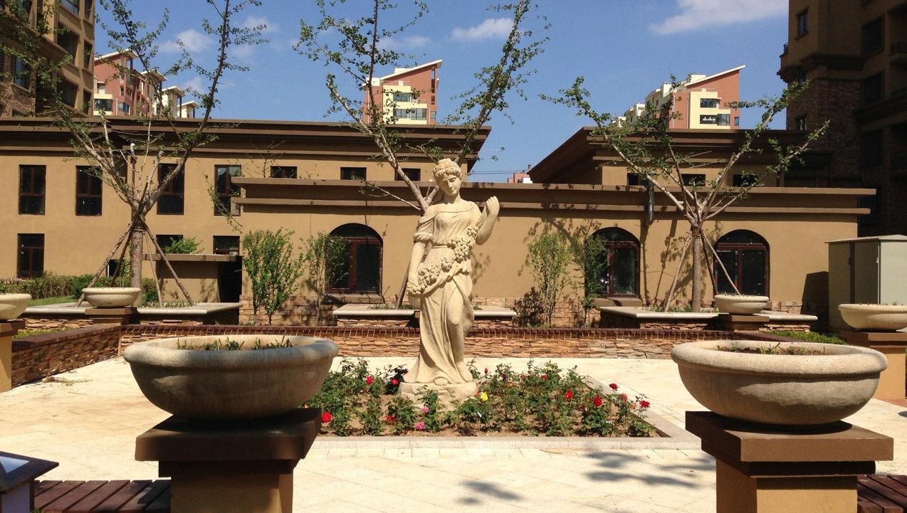 金兰欧式雕塑雕塑设计-【郑州草景观】1火炉房设计图图片