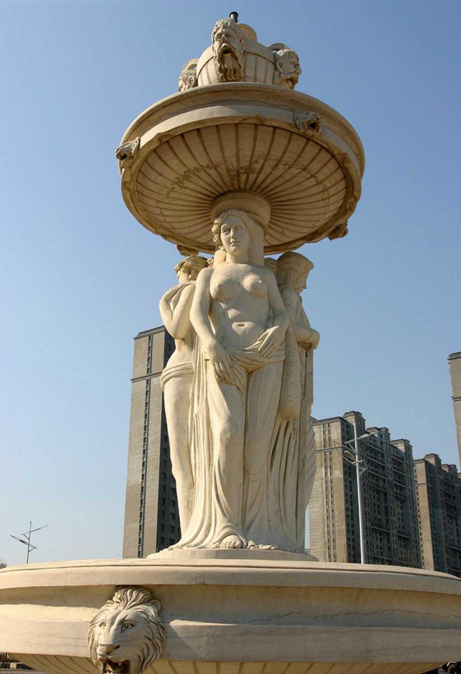欧式城市雕塑制作公司-金兰草雕塑公司-欧式城市雕塑图片