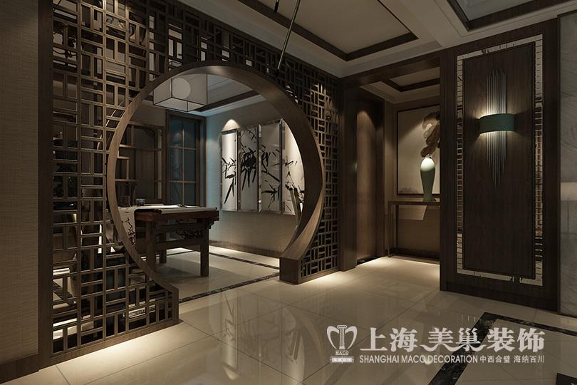 丰产路家属院120平三室两厅新中式装修效果图1234图片