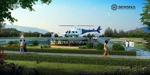 景观型直升机停机坪1