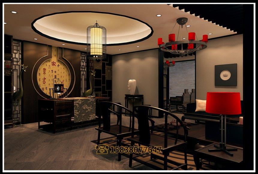 红动中国设计空间 郑州银饰展厅装修公司 郑州梦祥银装修设计 郑州高清图片