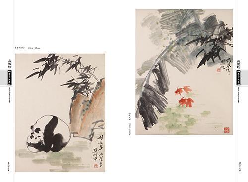 梦萦翰墨国画画册123案例图片 沈阳乾翔文化设计 给力沈阳设计的空间