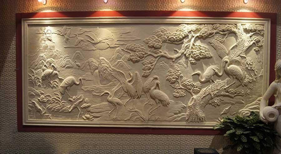 人造砂岩浮雕价格图片