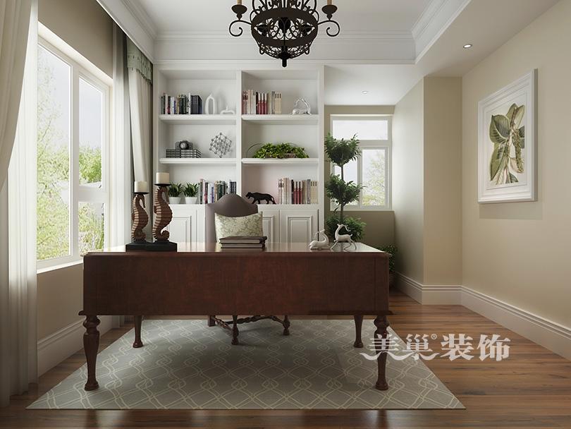 自建别墅装修效果图-20-自建别墅装修效果图 200平自然清新美式样板高清图片
