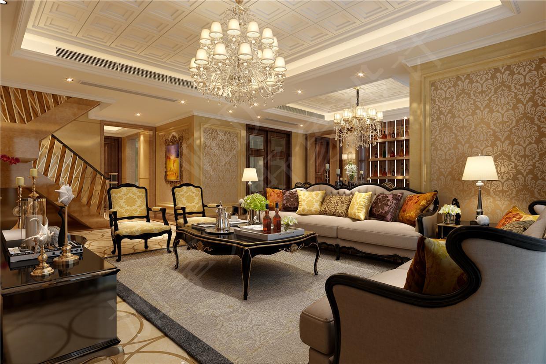 成都中式别墅装修设计-成都中式别墅设计-设计案例