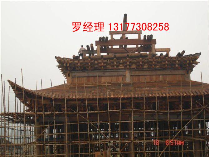 木结构寺庙设计,木结构仿古设计,混凝土木结构寺庙,木