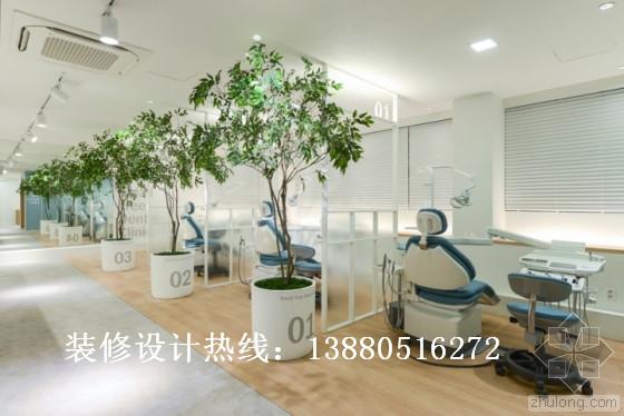 牙科诊所装修设计风格 牙科诊所装修设计效果图123案例图片 设计师纷高清图片