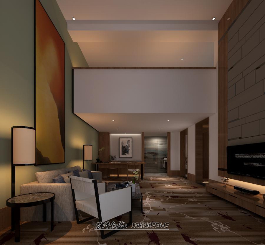 信阳酒店装修设计案例 专业酒店设计公司1案例图片 专业酒店装修设计