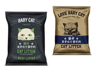 猫砂包装设计方案