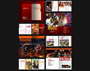 时尚动感企业画册设计