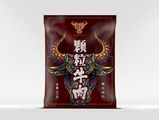 牛肉食品包装设计