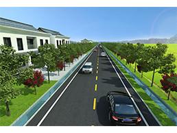 马路CAD效果图制作