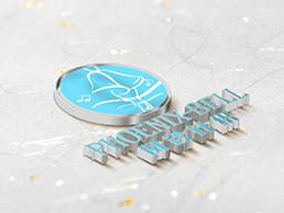 风铃针织手绘logo