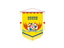 蒙古达日罕幼儿园足球大赛队旗