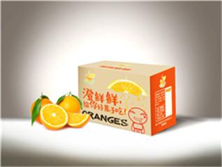 赣南脐橙澄鲜鲜品牌包装