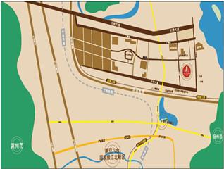 江北新区区位图