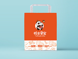 悦丰果宝坚果零食包装设计