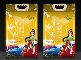 延边特产稻花香米包装