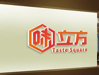 味立方餐饮logo