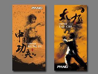 中国风武术形象海报