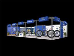 汽车轮胎3D效果图