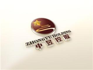中昱控股logo设计