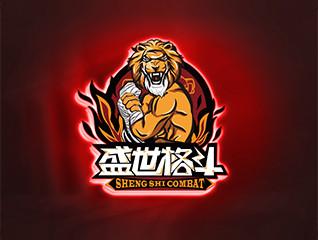 青岛盛世格斗俱乐部有限公司logo