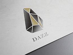DAZZ珠宝logo设计