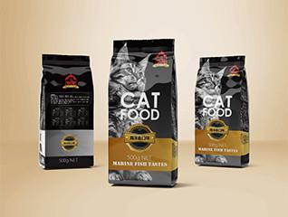 国际化高端猫粮包装