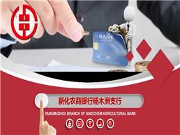 新化农商银行杨木洲支行PPT